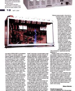 Január 2001 – časopis WATT (SK)