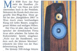 November 2003 – noviny Salzburger Nachrichten (DE)